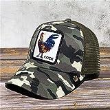 Sombreros de Animales Bordados de Caballos Europeos y Americanos Gorra de béisbol de Marca de Moda Cientos de Gorras de Animales