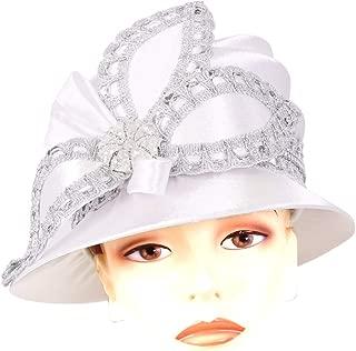 Women's Satin Church Derby Hats - H910