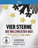 Vier Sterne - Die Weltmeister-Box - 1954 1974 1990 2014 / Alle deutschen Finalsiege mit Originalkommentaren von ARD und ZDF + Die offiziellen Turnierfilme der FIFA + Die Mannschaft (5...