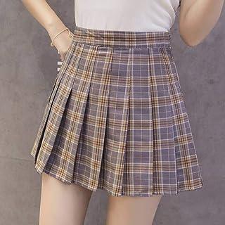 YUFUFU Kleidung Frauenrock Hohe Taille Sommer Faltenrock Frauen Tanzrock