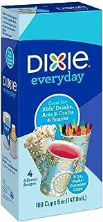 Dixie Bath Cups, Prints - 5 oz - 100 ct - 4 Pack