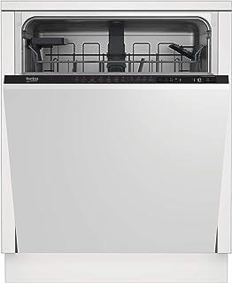 Beko DIN26410 Lavavajillas de encastre, 14 cubiertos, A+ , ancho 60cm, Pantalla LCD, 6 programas, motor inverter ProSmart