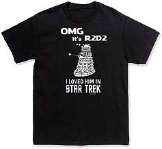 ComputerGear Star Wars OMG its R2D2 Dalek I Loved Star Trek Funny T-Shirt
