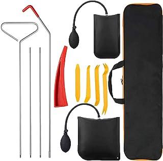 کیت ابزار اتومبیل Gapbvys Professional 11PCS ، ابزارهای وسایل نقلیه با بلند کردن دستی ، گوه و کیف ابزار غیرمجاز ، مجموعه ابزار چند منظوره برای خودروهای کامیون