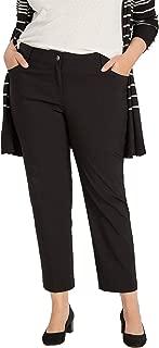 89th + Madison Plus Size Five Pocket Millennium Stretch Ankle Pants