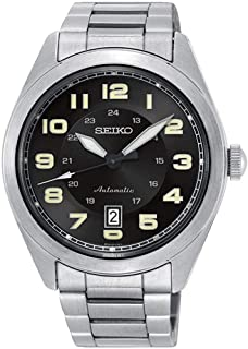 Seiko Men`s SRPC85K Silver Stainless-Steel Automatic Fashion Watch