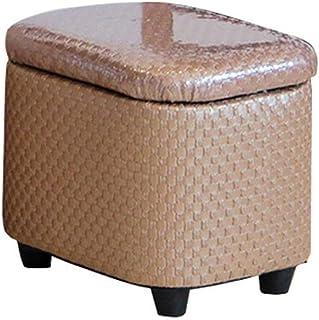 كرسي تخزين قابل للتغيير لغرفة المعيشة غرفة نوم كتان قماش طاولة مطبخ حديقة حمام أطفال والكبار (مقاس : 40 × 33 × 37 سم) سوكيو