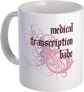 CafePress Medical Transcription Babe Mug Unique Coffee Mug, Coffee Cup