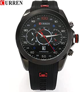 Curren Casual Watch For Men Analog Rubber - 8166BB