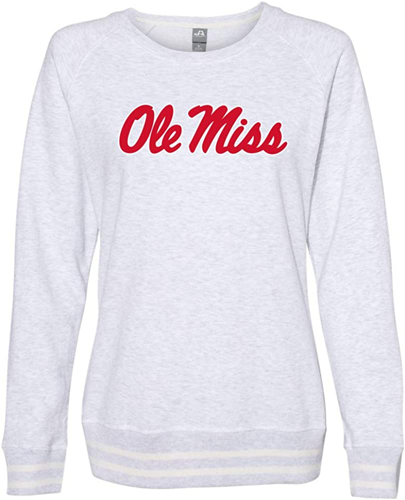 Ole Miss Rebels Hotty Toddy NCAA Womens Sweatshirt 1702AE12