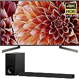 Sony 65-Inch 4K Ultra HD Smart LED TV 2018 Model (XBR65X900F) 3.1ch Soundbar with Dolby Atmos (Electronics)