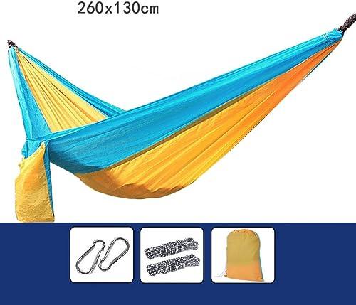 Weq Hamac, Double Toile de Parachute pour moustiquaire, Tourisme de Camping en Plein air, Facile à Transporter (Couleur    9)