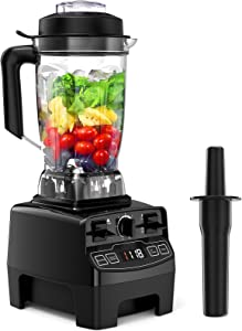Blender for Kitchen, Hom Geek 1450W Professional Blender with 70Oz Tritan Pitcher, High Speed Countertop Blender with 4 Preset Programs and 8 Speeds Control for Ice Crushing, Smoothie, Frozen Dessert