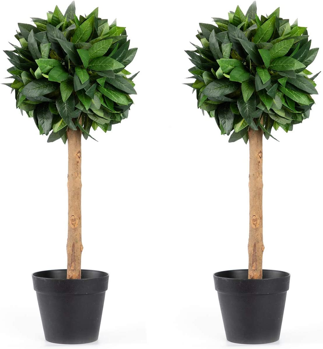 Velener 2' Silk Artificial Boxwood Topiary Ball Pot in for Cash special price Tree SALENEW very popular