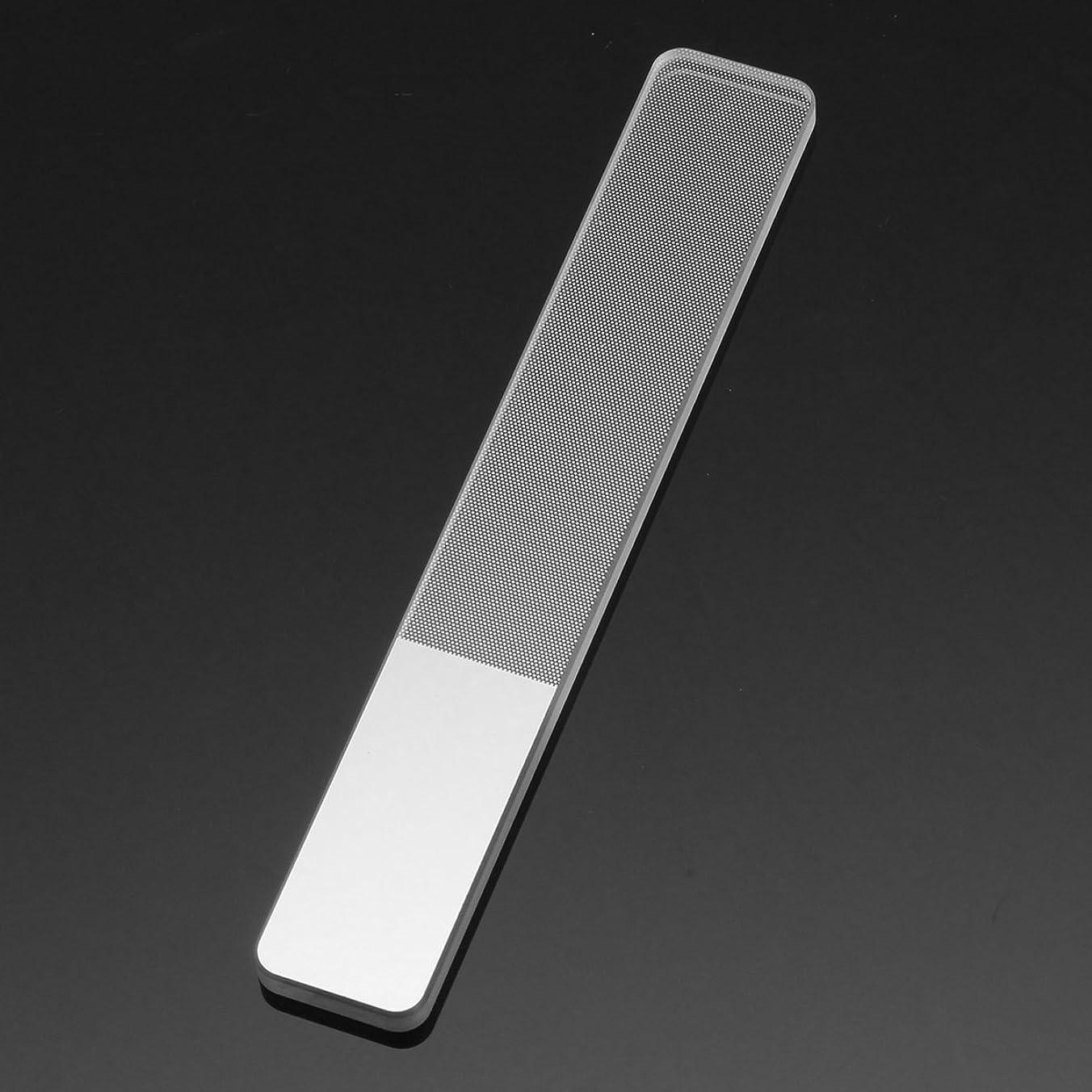 フォーラム保有者動的BeKitty Nanoガラスネイルアートサンドバッファーブロック釘のヒントファイルサンディングポリッシュマニキュアツール