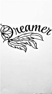 Chase Grace Studio Dream Catcher Dreamer Vinyl Decal Sticker|BLACK| Cars Trucks Vans SUV Laptops Wall Art|7