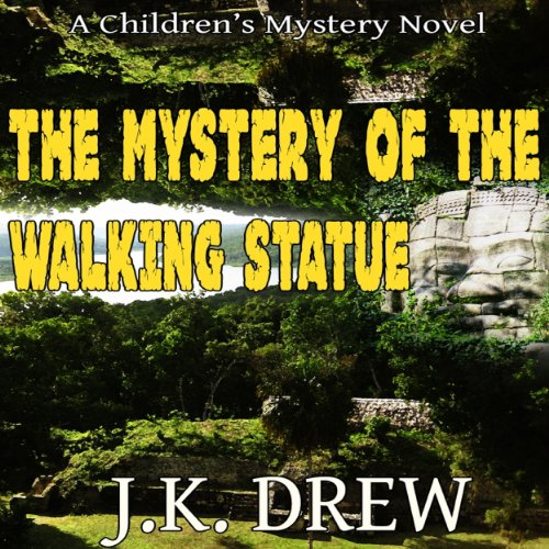 The Mystery of the Walking Statue audiobook cover art