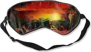 Sleep Mask Elephant Spirit Eye Mask Cover With Adjustable Strap Eyepatch For Travel, Nap, Meditation, Blindfold