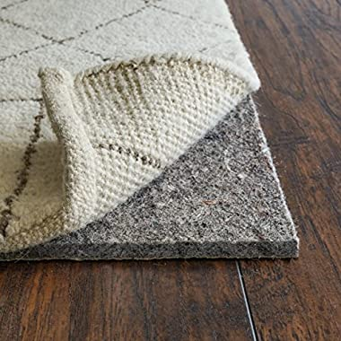 RUGPADUSA AG30-912 Anchor Grip 30 3/8  Premium Rug Pad for Larger Rugs Extra Thick Many Size and Thickness Options Perfect for Hard Floors, 9' x 12' Rectangle, Off-White