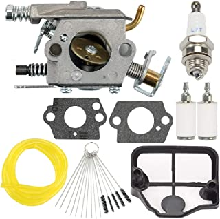 136 Carburetor for Husqvarna Chainsaw 530071987 36 41 141 137 141 142 Chainsaw Parts Walbro WT-834 WT-657 WT-529 WT-289 WT-285 WT-239 WT-202 with Air Filter Tune Up Kits