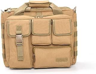 Rjj 600D Oxford Cloth Solid Color Outdoor Sports Shoulder Slung Backpack Multi-Function Tactical Handbag Men and Women Travel Computer Bag Waterproof Exquisite (Color : Yellow)