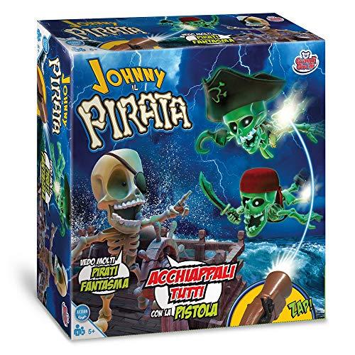 Grandi Giochi- GG01318, Johnny Il Pirata, Multicolore