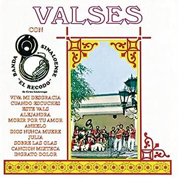 """""""Valses"""" Con La Banda Sinaloense El Recodo De Cruz Lizarraga"""