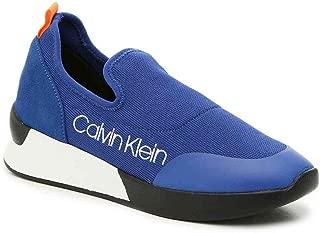 Calvin Klein Women's Que Slip-On Sneaker, Royal Blue, 6.5 M