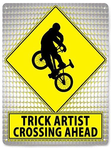 Bicicletas Retro Street metal sign BMX Truco artista juegos X decoración de la pared 344