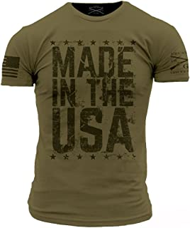 Made in The USA Men's T-Shirt - USA Made