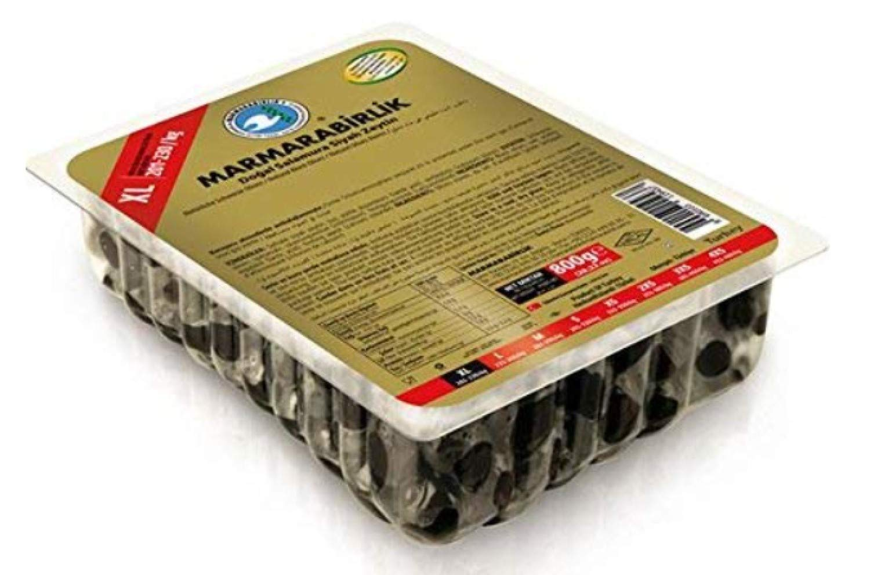 Marmara Birlik Gemlik Type Black Olives g Nippon Max 69% OFF regular agency MEGA 800 –