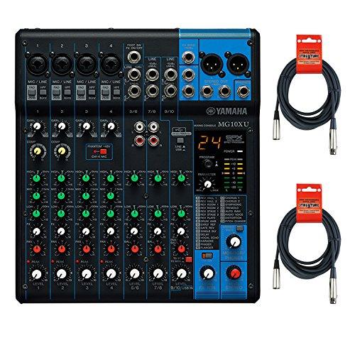 Yamaha MG10X U 10Eingang Stereo Mixer W/Kabel