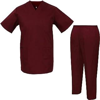 MISEMIYA Jacket and Trousers Unisex Uniforms Sanitary 8178