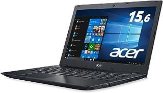 Acer ノートパソコン Aspire Core i7-7500U/15.6インチ/8GB/256G SSD/DVD±R/RW ドライブ/Windows 10/ブラック E5-576-F78U/K