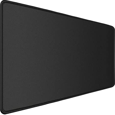 """Gaming Mouse Pad,Upgraded Ergonomic Larger Extended Gaming Mouse Pad with Durable Stitched Edge,Waterproof Non-Slip Base,Best Gaming Mouse Pad for Gamer, Computer,Laptop, 31.5""""x15.7""""x0.12"""", Black"""