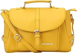 Lapis O Lupo Women's Handbag (LLHB0030YL_Yellow)