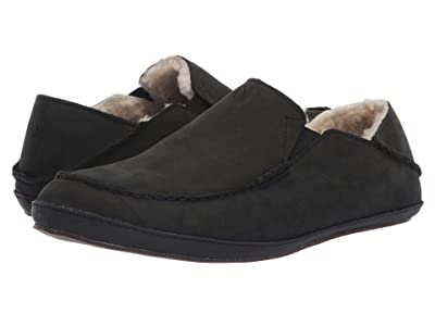 OluKai Moloa Slipper (Onyx/Onyx) Men