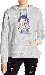 My Hero Academia Boku No Hero Shinso Hitoshi Hoodies Sweatshirt Adult Pullovers for Women