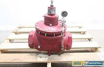 KIMRAY 412 SGT BP 4 in NPT Iron Gas Back Pressure Regulator Valve D556039