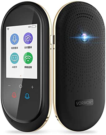Gold New T9 WiFi+GPS+BT 2.4IPS Monitor Version Travel Abroad Translator Voice//Photo Simultaneous Interpretation 75 Languages Translator Support Android 6.0
