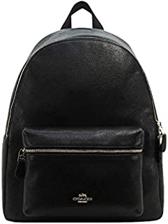 COACH Pebbled Leather Charlie Backpack