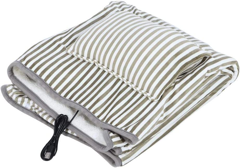 POCREATION Easy-to-use Comfortable Electric Blanket Detroit Mall Heating W Pad
