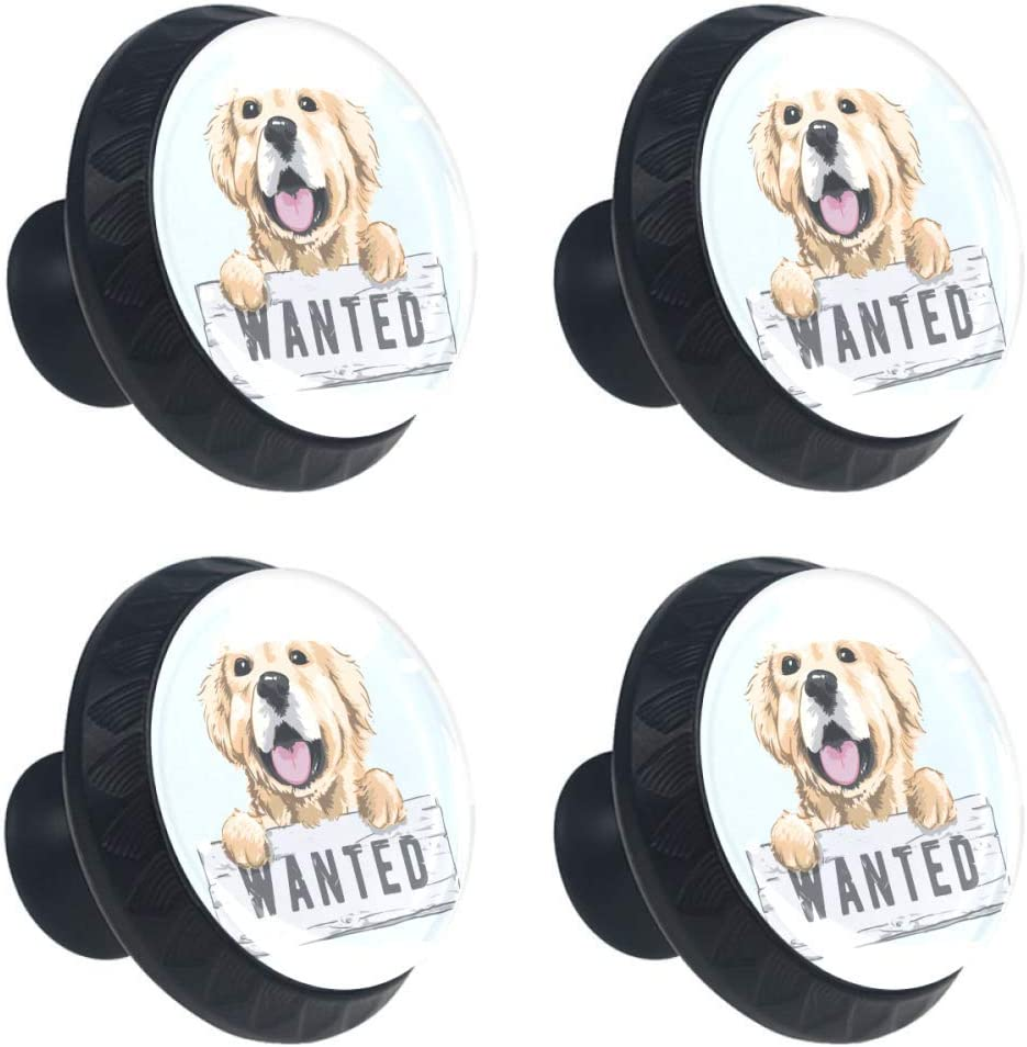 67% OFF of fixed price Shiiny Cartoon Golden Retriever Drawer Pull Knob Handle Limited time cheap sale Cabinet