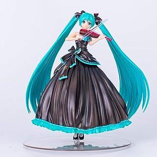 Luckly77 Virtual Singer Hatsune Miku PVC figura, Violinista Ver Miku de colección y Decoración modelo de juguete