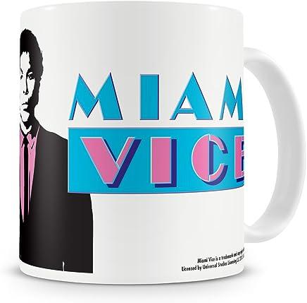 Preisvergleich für Offizielles Lizenzprodukt Miami Vice Kaffeetasse, Kaffeebecher