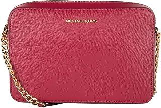 MICHAEL KORS Womens Large Ew Crossbody Bag, Berry - 32S4GTVC3L