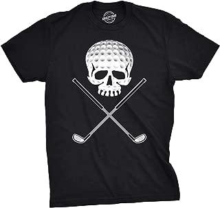 Mens Golf Jolly Roger Funny T Shirts Sport Cool Vintage Retro Tees Hilarious T Shirt