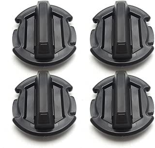 4Pcs Twist Floor Drain Plug Trap Seal for 2014-2018 Polaris RZR 1000 900 XP Turbo (Updated Version)