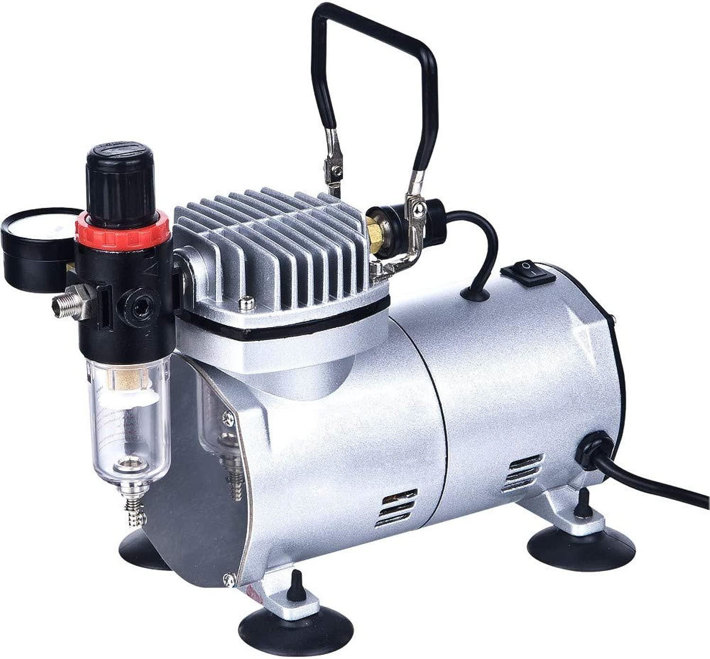 ABeste compressore del aerografo Cool correrener compressore d' aria del Mini pistone professionale del ad alte prestazioni con il regolatore, indicatore, filtro della trappola d' acqua strumento-2