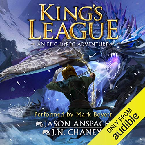 King's League audiobook cover art